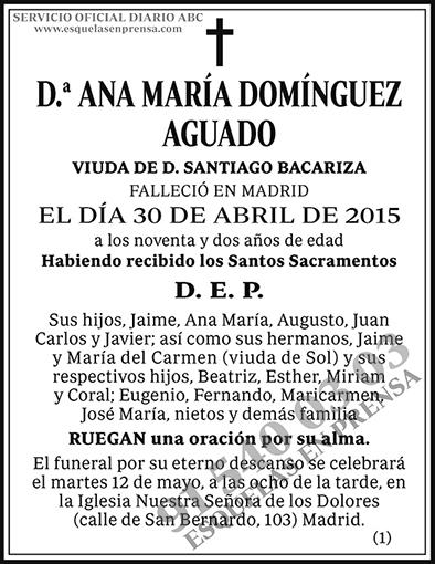 Ana María Domínguez Aguado